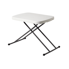 Realspace Personal Folding Table Platinum