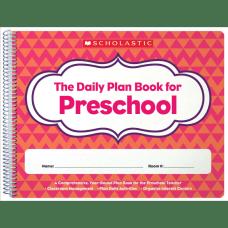 Scholastic Daily Plan Book For Preschool