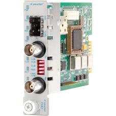 iConverter T3E3 Media Converter Coaxial SFP