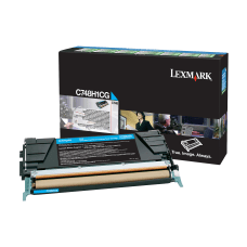 Lexmark X748H1CG High Yield Cyan Toner