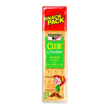 Keebler Sandwich Crackers Club Cheddar 18