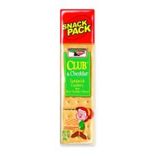 Keebler Sandwich Crackers Club Cheddar 18