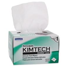 KIMTECH Kimwipes 1 Ply Delicate Task