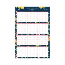 Day Designer Laminated Wall Calendar 36