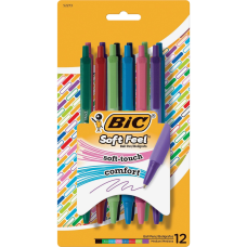 BIC SoftFeel Ball Pen Medium Pen