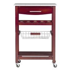 Linon Canton Kitchen Cart 33 78