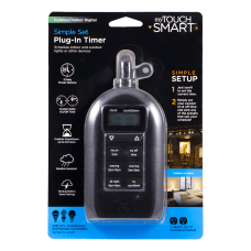 GE myTouchSmart OutdoorIndoor Plug In Timer