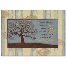 Viabella Sympathy Greeting Card Tree 5