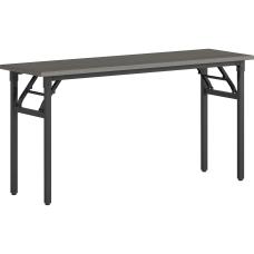 Lorell Folding Melamine Training Table 30