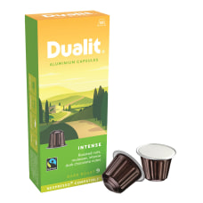 Dualit And Nespresso Compatible Aluminum Coffee