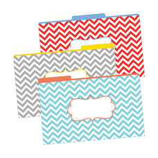 Barker Creek Tab File Folders 8