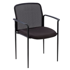 Lorell Mesh Seat Mesh Back Stacking