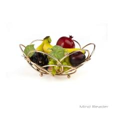 Mind Reader Modern Rose Fruit And