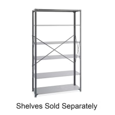 Safco Industrial Steel Shelving Post Pack