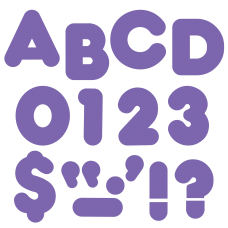 TREND Ready Letters Casual 4 Purple