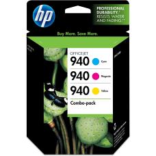 HP 940 Tricolor Original Ink Cartridges