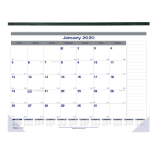 Blueline Net Zero Carbon Monthly Desk