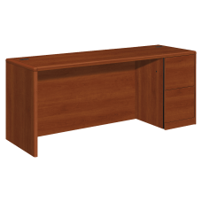 HON 10700 Series Laminate Right Pedestal
