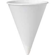 Solo Paper Cone Water Cups White