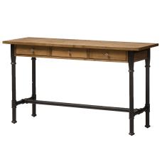 Baxton Studio Lino Storage Desk BrownBlack