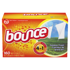 Bounce Dryer Sheets Outdoor Fresh Scent