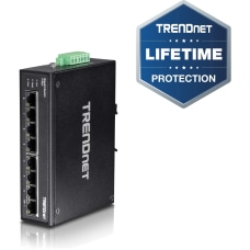TRENDnet 8 Port Hardened Industrial Gigabit