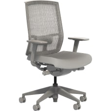 Safco Gist Mesh Task Chair Gray