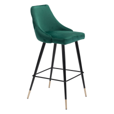 Zuo Modern Piccolo Bar Chair Green