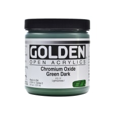 Golden OPEN Acrylic Paint 8 Oz