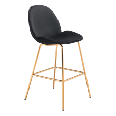Zuo Modern Siena Bar Chairs BlackGold