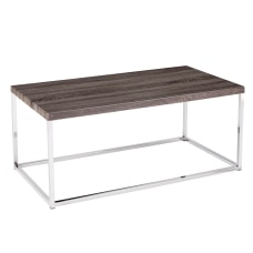 Southern Enterprises Glynn Cocktail Table Rectangular