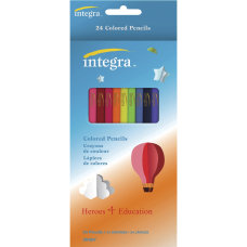 Integra Colored Pencil 24 Pack