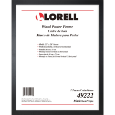 Lorell Solid Wood Poster Frame 22