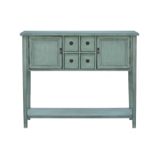 Powell Jayne 4 Drawer Console Table