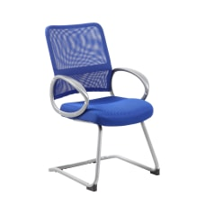 Boss Mesh Guest Chair BluePewter