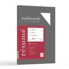 Southworth 100percent Cotton R sum Paper