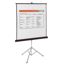 Quartet Portable Tripod Projection Screen 70