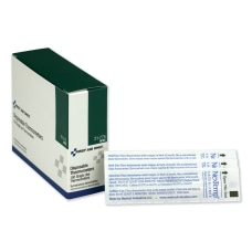 First Aid Only NexTemp Disposable Thermometers