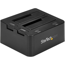 StarTechcom USB Dual Hard Drive Docking