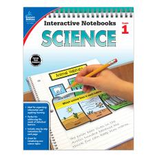Carson Dellosa Interactive Notebooks Science Grade