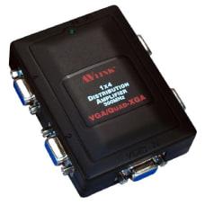 QVS 1x4 300MHz 4Port VGAQXGA Compact