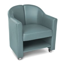 OFM Contour Series Mobile Club Chair
