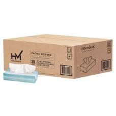 Highmark 2 Ply Facial Tissue Flat