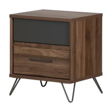 South Shore Olvyn 2 Drawer Nightstand