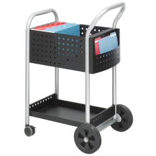 Safco Scoot Mail Cart 40 12