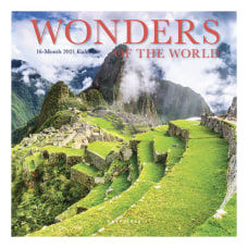 Graphique Travel Mini Monthly Calendar 7