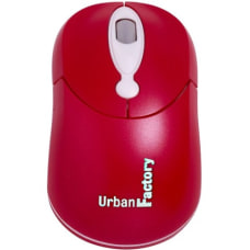 Urban Factory Optical Crazy Mouse Red