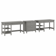 Bush Furniture Broadview 2 Person Desk