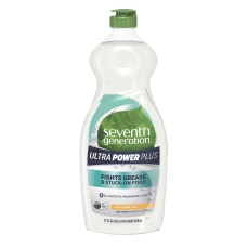 Seventh Generation Ultra Power Plus Dishwashing