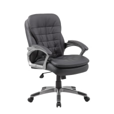 Boss Office Products Pillow Top Vinyl